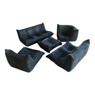 Michael Ducaroy Togo Style Modern Sectional Sofa For Sale