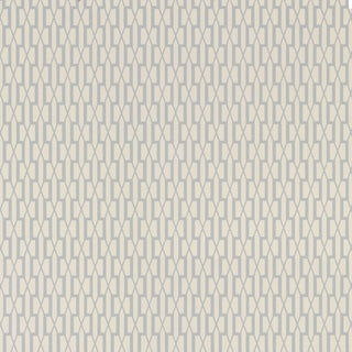 Sample - Schumacher X Veere Grenney Belvedere Wallpaper in Orphington Blue For Sale