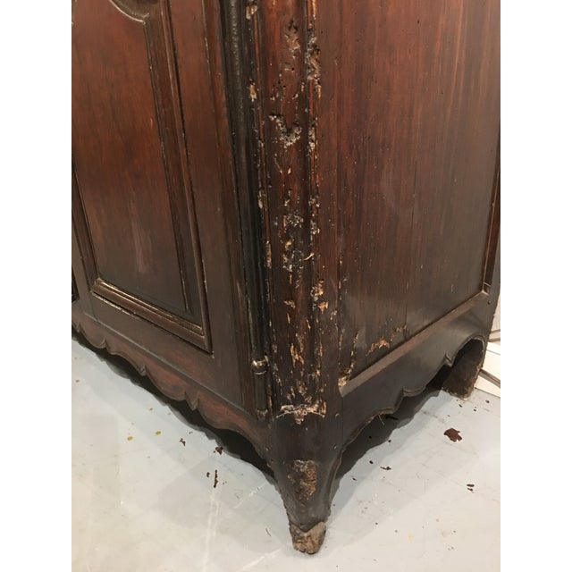 Brown Louis XV Period Buffet in Walnut For Sale - Image 8 of 13