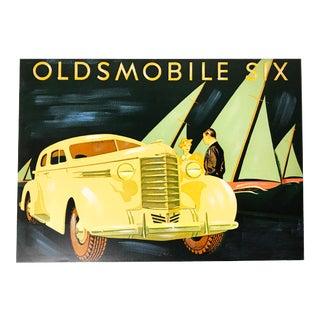 1937 Oldsmobile Brochure Painting