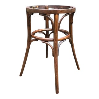 Mid-Century Modern Bent Wood Table Base For Sale