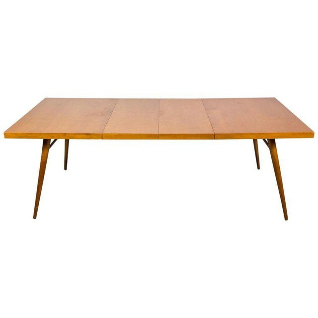 Tan Paul McCobb Planner Group Expandable Drop-Leaf Dining Table For Sale - Image 8 of 8