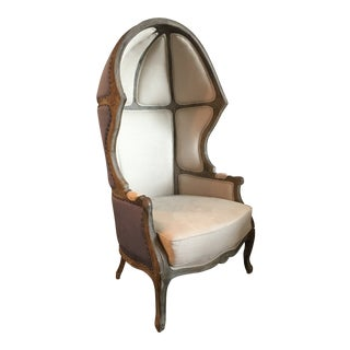18th Century Louis XV Dome Balloon Chair For Sale