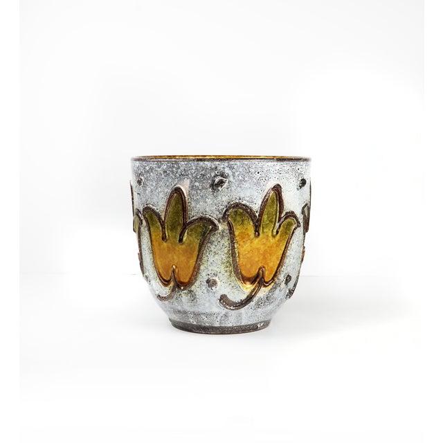 Ceramic 1960s Italian Ceramic Planter For Sale - Image 7 of 9