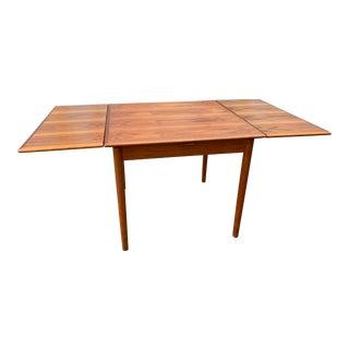 Danish Modern Teak Dining Table For Sale