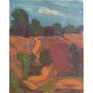 Mike Rivero Expressionist Landscape Painting For Sale