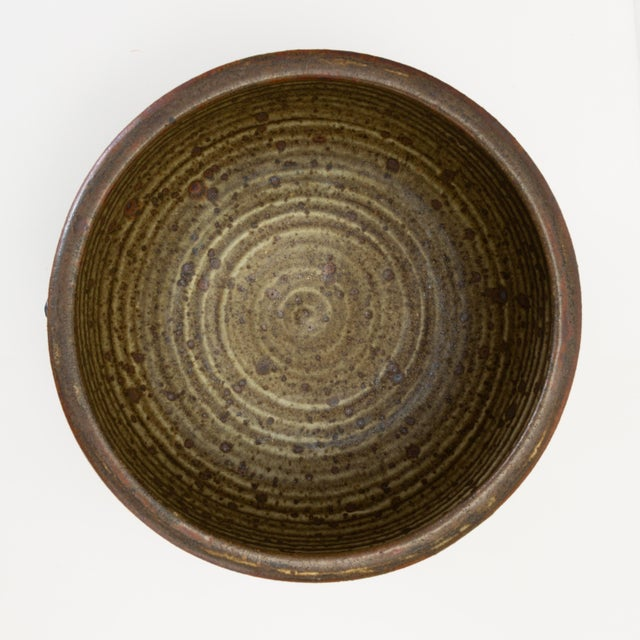 Vivika and Otto Heino Studio Pottery Bowl For Sale In Los Angeles - Image 6 of 9