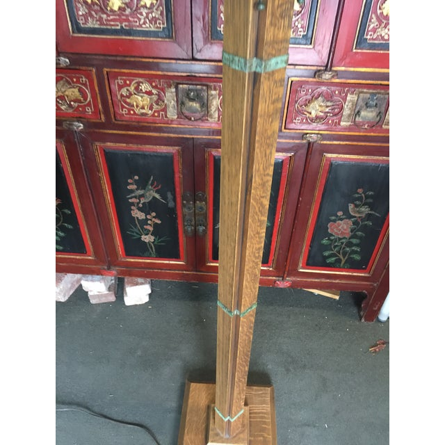 Arts & Crafts Arts Crafts Floor Lamp by Warren Hile For Sale - Image 3 of 11