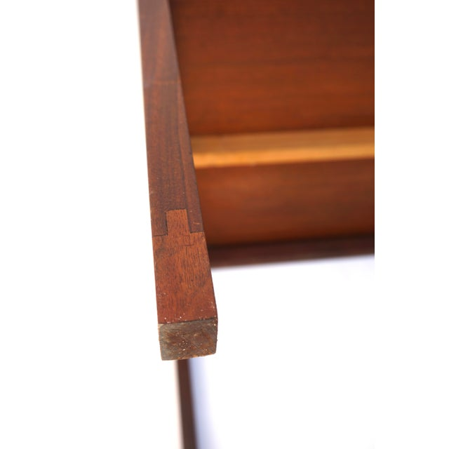 Mid-Century Hans Olsen Teak End Table || Made in Denmark || One of Two For Sale - Image 9 of 13