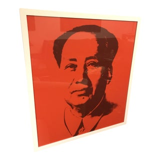 "Andy Warhol ""Mao, Red Sunday B. Morning"" Silk-Screen For Sale"