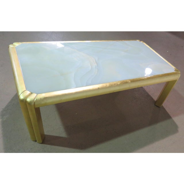 Mid 20th Century Mid Century Hollywood Regency Style Coffee Table For Sale - Image 5 of 7