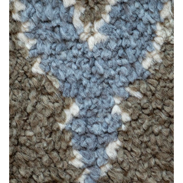 Turkish Contemporary Handwoven Turkish Wool Rug For Sale - Image 3 of 6