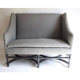 19th Century French Ebonized Settee Preview