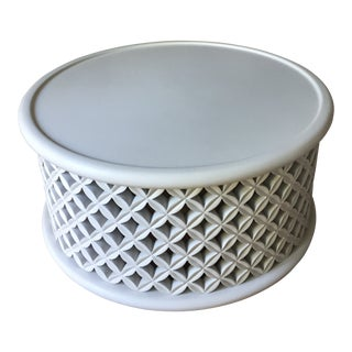 Serena & Lily Bamileke Outdoor Coffee Table For Sale