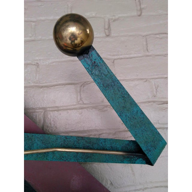 C. Jere 1980s Contemporary Wall Sculpture For Sale - Image 11 of 12