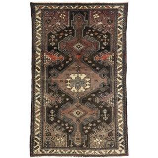 1920s Antique Persian Nahavand Hamadan Rug - 4′5″ × 7′ For Sale