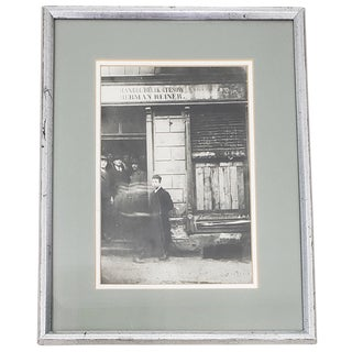 "Silver Gelatin Photograph ""Jewish Deli, Poland"" C.1930 For Sale"