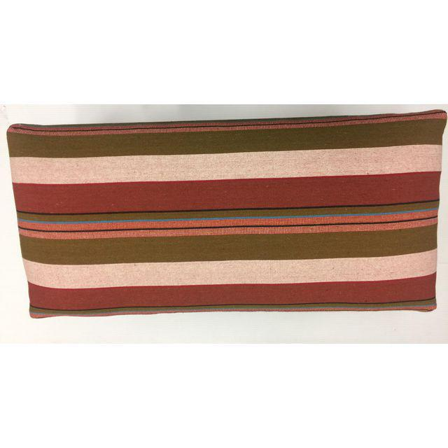 Handcrafted Handloom Upholstered Bench - Image 2 of 4