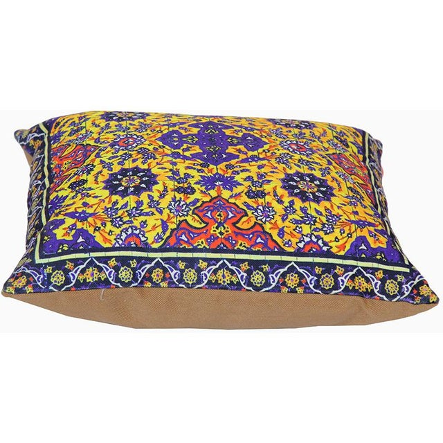 Decorative Persian Accent Pillows - A Pair For Sale - Image 4 of 7