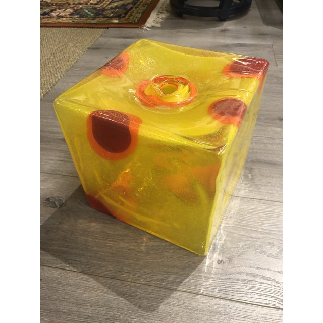 Abstract Joseph McDonnell Glass Sculpture For Sale - Image 3 of 5