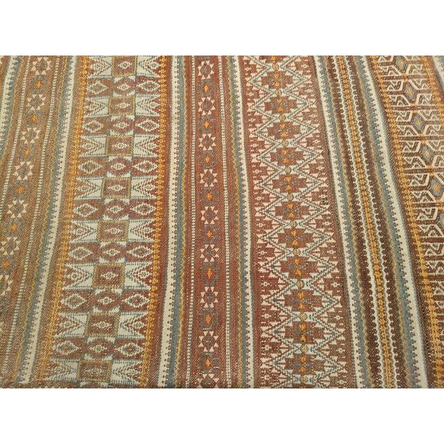Vintage Uzbek Kilim Rug - 3′7″ × 6′7″ For Sale - Image 4 of 10