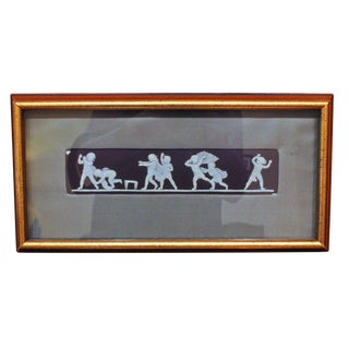 """Blind Man's Bluff"" Wedgwood Plaque For Sale"