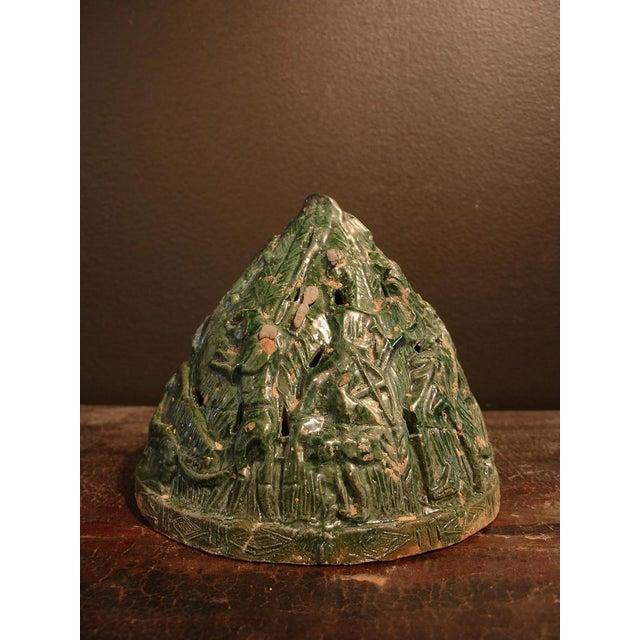 A Han Dynasty Green Glazed Boshanlu Censer For Sale In Austin - Image 6 of 7