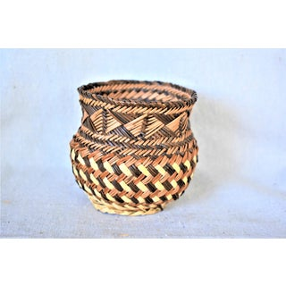 Vintage Cherokee Style Basket Preview