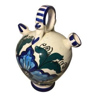 Vintage Picasso Style Art Studio Ceramic Pot For Sale