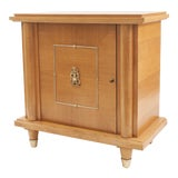 Image of French Mid-Century (1940s) Sycamore Commode / Bar For Sale