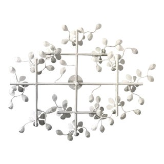2 Layer Delicate Garden Chandelier For Sale