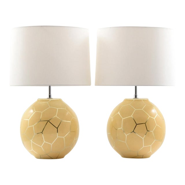 1980s Contemporary Karl Springer Lamps - a Pair For Sale