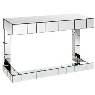 Bruelle Mirrored Desk With 1 Drawer For Sale