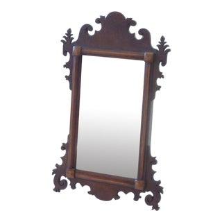 19th Century Mahogany Dresser Mirror For Sale