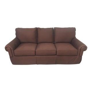Henredon Furniture Custom Upholstery Fireside Sofa For Sale