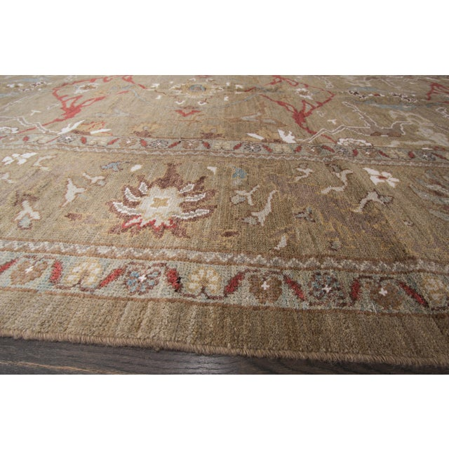 "Persian Sultanabad Rug - 6'4"" x 16'5"" - Image 10 of 10"