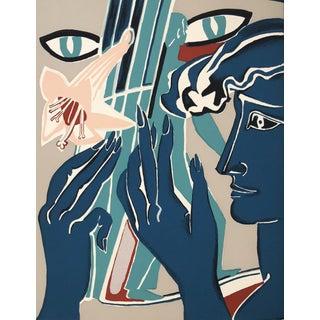1980s 'Colette' Original Silkscreen by Francoise Gilot For Sale