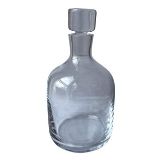 Vintage Modern Glass Decanter