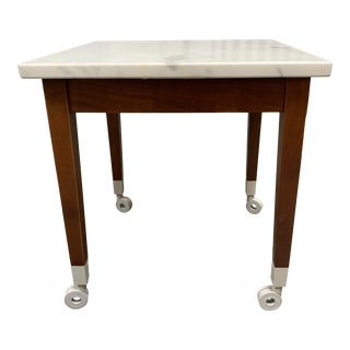 Driade Philippe Starck Neoz Marble Side Table For Sale