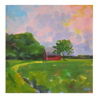 Red House in Vermont by Anne Carrozza Remick For Sale