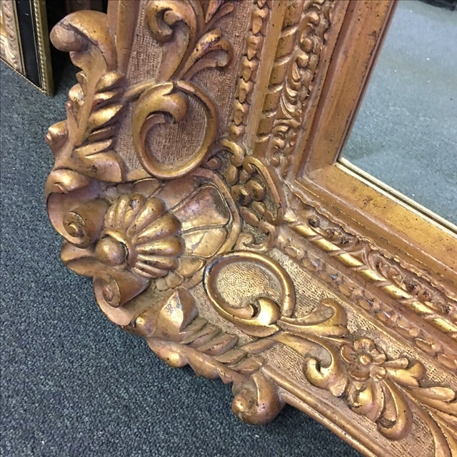 Carved Gilt Wall Mirror - Image 6 of 10