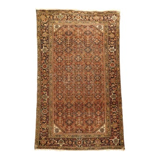 """Genuine Antique Persian Rug. 3'9""""x 6'4"""" For Sale"""