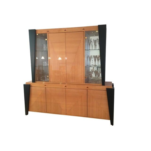 Contemporary Custom Dining Room Hutch/Buffet - Image 2 of 7