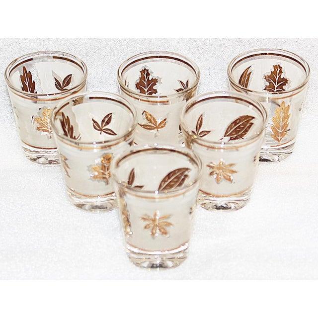 1960s Midcentury Modern Libbey Shot Glasses, Set of 6 For Sale - Image 5 of 5