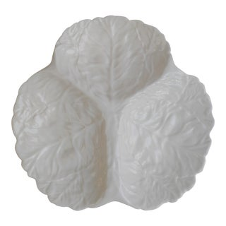 Coalport Cabbage Leaf Serving Plate