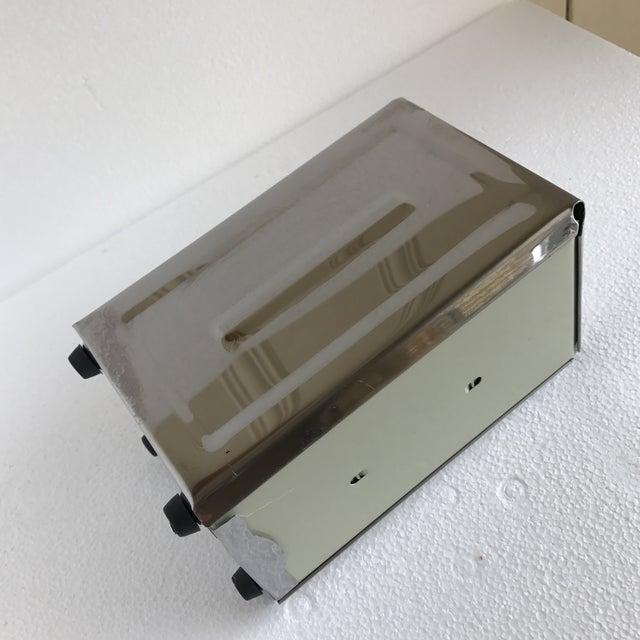 Metal Steel Diner Napkin Dispenser For Sale - Image 7 of 9