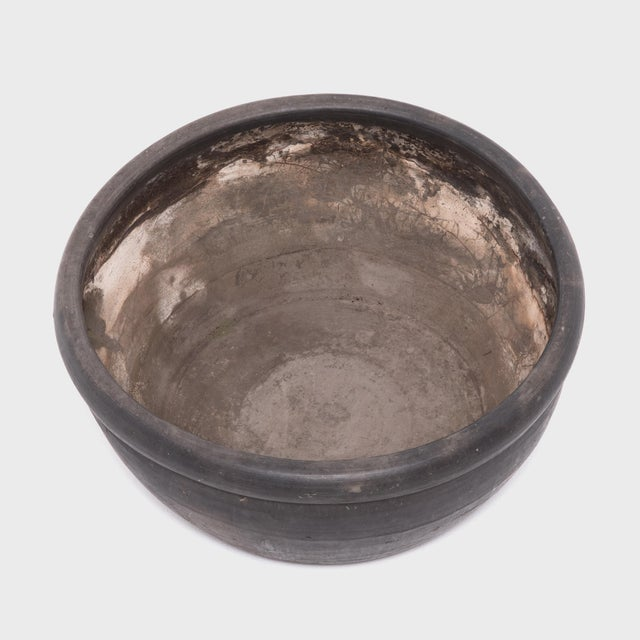 Early 20th Century Chinese Black Clay Basin For Sale - Image 5 of 6