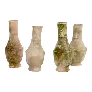 Greek Pottery Vases - Set of 4