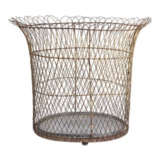 Large Wire Planter French Mid 19th Century For Sale