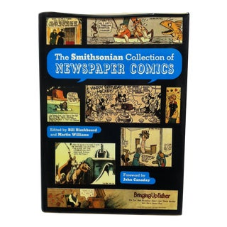 """1977 """"The Smithsonian Collection of Newspaper Comics"""" Coffee Table Display Book For Sale"""
